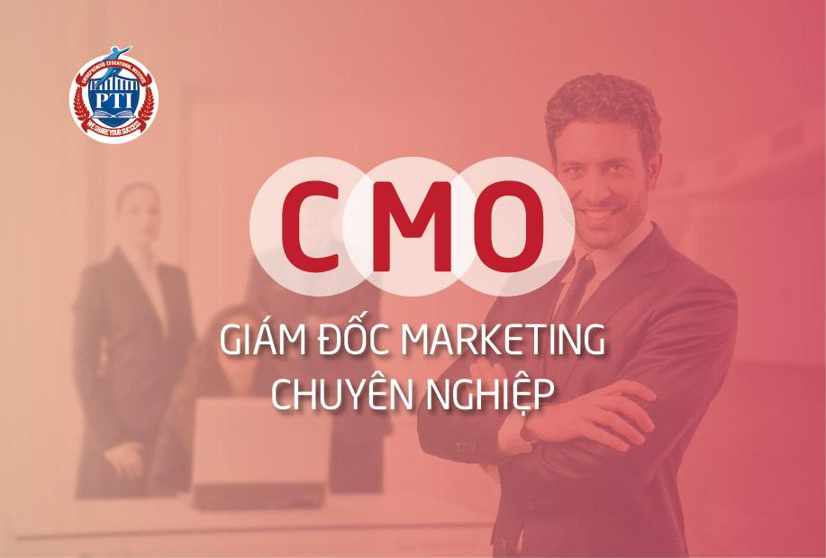 CMO – Giám đốc Marketing chuyên nghiệp