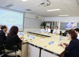 Trường Đại học Trưng Vương chính thức hợp tác đào tạo với Đại học St John's (Đài Loan)